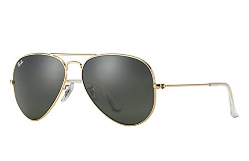 9c480d7875 Ray-Ban 3025 Aviator Large Metal Non-Mirrored Non-Polarized Sunglasses From  Ray-Ban