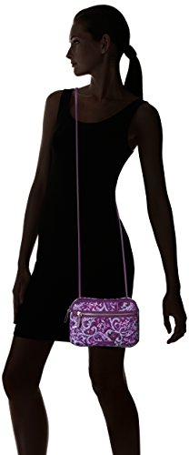 Crossbody Paisley Little Bradley Vera Cotton Iconic Rfid Signature Lilac WnOIcSvqct