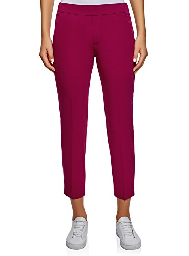 Elastico Vita 4902n Ultra Stretti Donna In Rosa Oodji Con Pantaloni pqXwz0