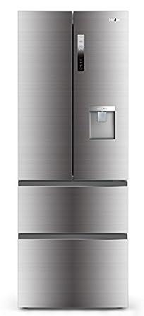 Haier b3fe742cmjw multi door fridge freezer water dispenser silver large appliances - Frigo largeur 70 ...