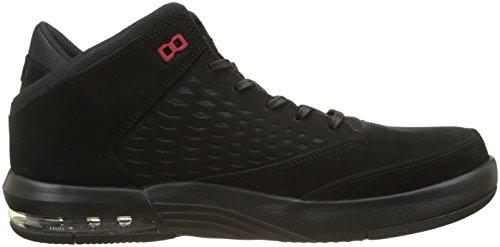 Nike Herren Jordan Flight Origin 4 Basketballschuhe Schwarz (black / Gym Red 002)