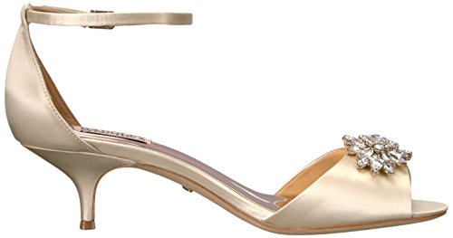 Badgley Mischka Womens Sainte Heeled Sandal Ivory FQy0hABN