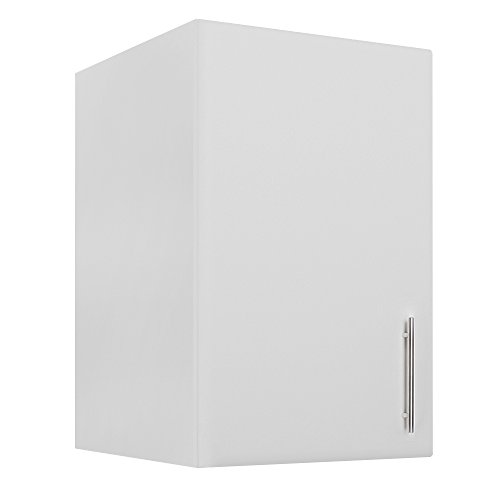 RESSORTIR RES-25CKC3004 Elite 32'' Stackable Wall Wood Laminate Cabinet, White by RESSORTIR