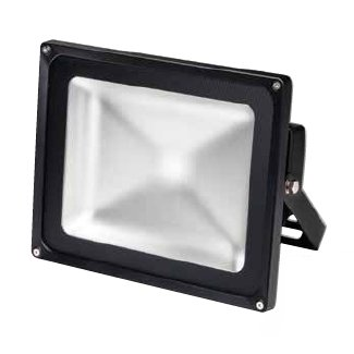 Sylvania KREIOS 90w LED Floodlight IP65 Dimmable Outdoor Work light - Black