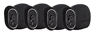 4 x Silicone Skins for Arlo Smart Security - 100% Wire-Free Cameras — by Wasserstein