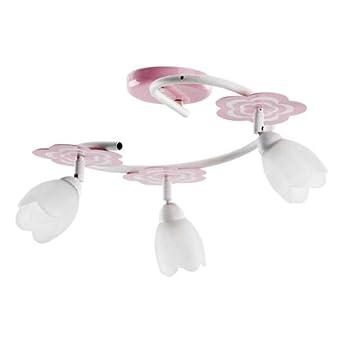 ALFA MARIA Pink/Rosa 3 S Deckenleuchte Deckenlampe Kronleuchter ... | {Kinderzimmerlampe 52}