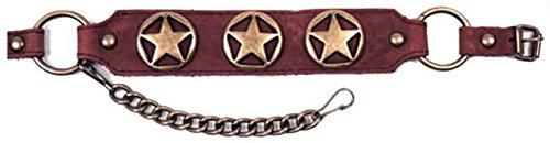 Kx Brands Bota Chains Con 3 Estrellas De Texas Ubr88