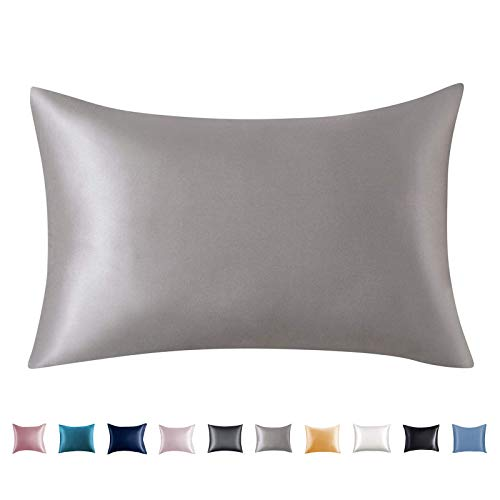 Adubor Silk Pillowcase for Hair and Skin 22 Momme 100% Natural Mulberry Silk Pillow Covers