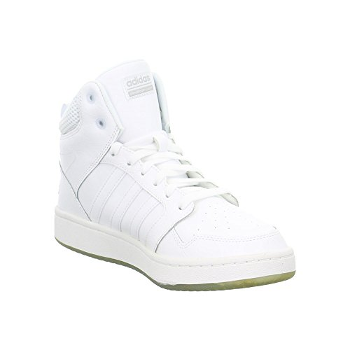 adidas Cf Superhoops Mid W, Zapatillas de Deporte para Mujer Blanco (Ftwbla / Ftwbla / Plamat)