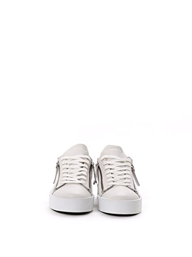 Crime London Sneakers Donna 2540110 Pelle Bianco