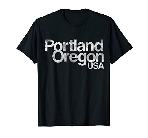 Portland Oregon USA Mountain Sunset t-shirt