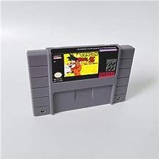 Game card - Game Cartridge 16 Bit SNES , Game Dragon Ball Z Super Saiya Densetsu - RPG Game US Verion