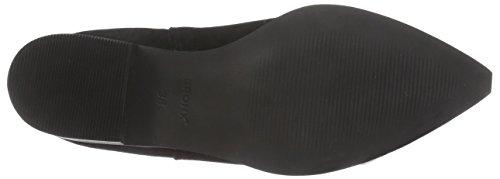 Bronx BvikX - botas chelsea de cuero mujer negro - Schwarz (black / 01)