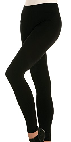 Body Wrappers Womens FOOTLESS PANT 321 -BLACK M