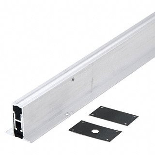 CRL Aluminum Finish Medium-Duty Automatic Door Bottom for 36'' Door by CR Laurence