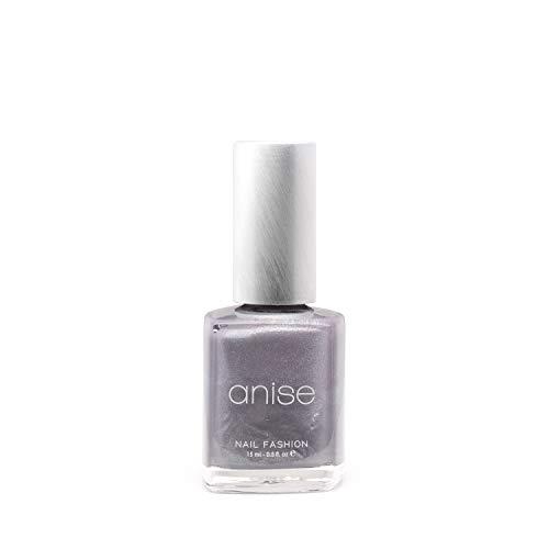 Anise Nails Polish - Gun Metal Grey