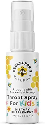 BEEKEEPER'S NATURALS Propolis Throat Spray - 95% Bee Propolis Extract - Natural Immune Support & Sore