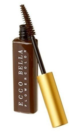 Ecco Bella All Natural Brown Mascara Perfect for Sensitive Eyes Volumizes and Lengthens Eyelashes