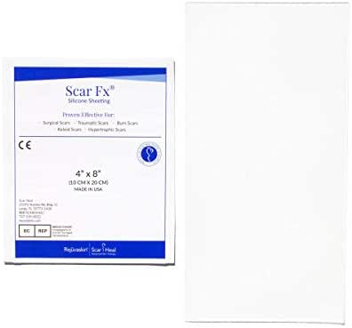 Scar Fx Silicone Scar Therapy, Size Of Patch 4