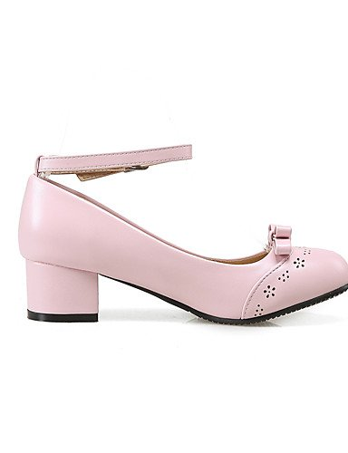 us10 eu42 Casual Robusto pink Zapatos mujer Trabajo GGX cn43 5 Tacones uk8 5 eu42 PU Puntiagudos Tacón Oficina de 5 5 8 cn42 uk8 uk7 10 eu41 cn43 5 Negro Confort Azul Blanco us10 y pink us9 pink Rosa 5 x4nPPdTRI