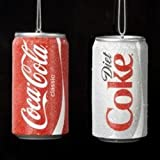 "ORN COKE/DIET COKE4.5"" by KURT S ADLER MfrPartNo ZAECC1801SP"