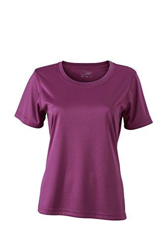 James & Nicholson - Camiseta - Manga corta - para mujer morado
