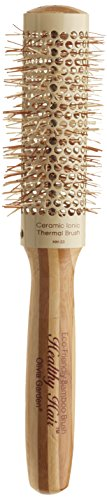 Olivia Garden Healthy Hair Bamboo Thermo-Ceramic Brush HH-33 33/ 50 mm - Thermo Ceramic Brush