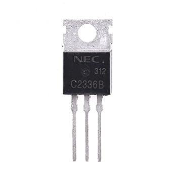 jrl 2sc2336b NPN amplificador de potencia de audio transistor TO220 silicona BJT marca nueva