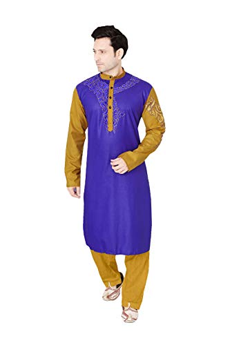 daindiashop-USA Indian Pakistani Kurta Pajama Partywear Wedding Dress Kurta by daindiashop-USA