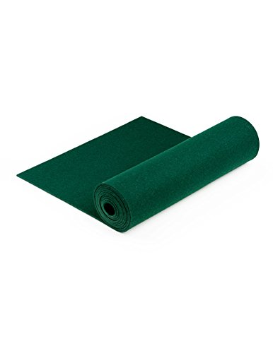 100% Wool Designer Felt by the Foot: 70.9'' x 9 yd x 3mm Thick, Forest Green by The Felt Store