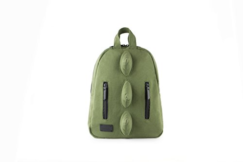 7AM Voyage Mini Dino Cotton Backpack, Unisex Toddlers, Kids and Teens School Backpack, (Army) by 7AM Voyage