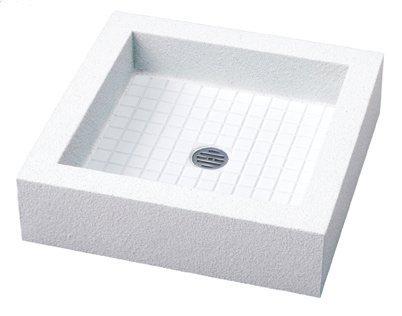 立水栓の水受け モゼックパン<立水栓は別売り>   ホワイト(WH) B00MBAM06O ホワイト(WH)