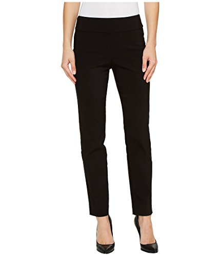Krazy Larry Pull on Ankle Pants (6, Black) by Krazy Larry