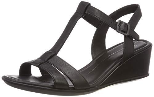 Wedge De Con Mujer 35 Para Ecco Shape 1001 Zapatos black Abierta Punta Sandal Tacón xqEwX0Sw