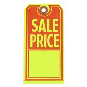 Large Sale Price Merchandise Tags Case of 1000