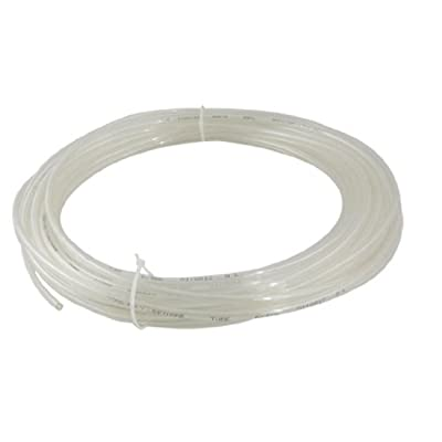 uxcell 15M 49.2Ft 6mm x 4mm Clear Pneumatic Air PU Hose Pipe Tube