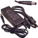 Denaq Replacement - DENAQ 90W, 19V, 4.74A, 7.4mm-5.0mm Replacement AC Adapter for HP BUSINESS NOTEBOOK 2210B, 2230S, 2510P, 2710P, 6510B, 6515B, 6530B, 6530S, 6535B, 6710B, 6710S, 6715B, 6715S, 6730B, 6730S, 6735B, 6735S, 6830S, 6910P, NC2400, NC4400, NC6320, NC6400, NW8440, NW9440, NX6310, NX6315, NX6320, NX6325, NX7300, NX7400, NX8420, NX9420; HP ELITEBOOK 2530P, 2730P, 6930P, 8440P, 8530P, 8530W, 8540W; HP Envy 17; HP G42; HP G50; HP G60; HP G61; HP G62; HP G70; HP G72; HP PAVILION DM4-1000 Series, DM4T SERIES, DM4T-1100, DM4T-1200, DV3-4000, DV4, DV4-1000, DV4T, DV4T-1000, DV4Z, DV4Z-1000 SERIES, DV5-1000 Series, DV5-2000 Series, DV5T, DV5Z, DV6-3000 Series, DV6T SERIES, DV6T-2000, DV6T-3000, DV6T-3100, DV6T-3200, DV6T-4000, DV7, DV7-4000 Series, DV7-5001XX, DV7T, DV7T-1000, DV7Z, DV7Z-1000, G50, G5000, G60, G6000, G61, G70, G7000, G71; HP PRESARIO B1210, CQ32, CQ40, CQ42, CQ45, CQ50, CQ62; HP TABLET PC TC4400; Part: DQ-384020-7450