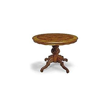 EsteaMobili Ambienti rotondo tavolo da pranzo allungabile legno ...