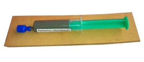 Messerabziehpasten-Set: 10ml POLIERPASTE + 20cm LEDERRIEMEN