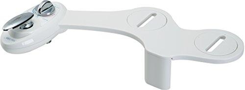 Luxe - Dual Nozzle - Fresh Water Non-Electric Mechanical Bidet Toilet Attachment