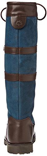 Cabotswood Women's Gatcombe Boots Blue (Blue (Oak/Navy)) VDZyaE