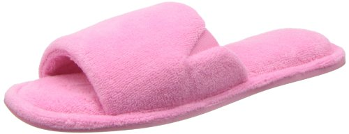Dearfoams Women's Scuff Slipper,Aurora Pink,Medium/7-8 M US