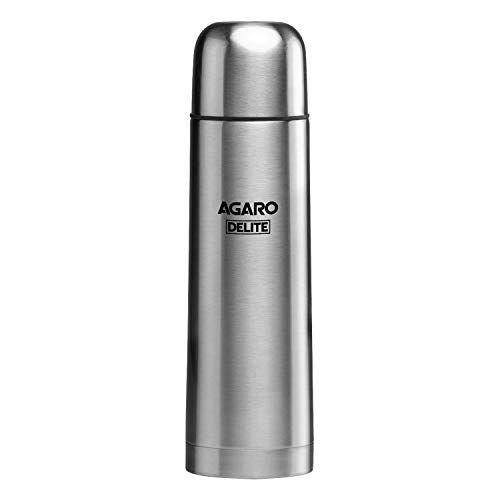 AGARO Delight Stainless Thermo-Steel, Hot & Cold Vacuum Flask 500ML (Grey) (B0796T6D49) Amazon Price History, Amazon Price Tracker