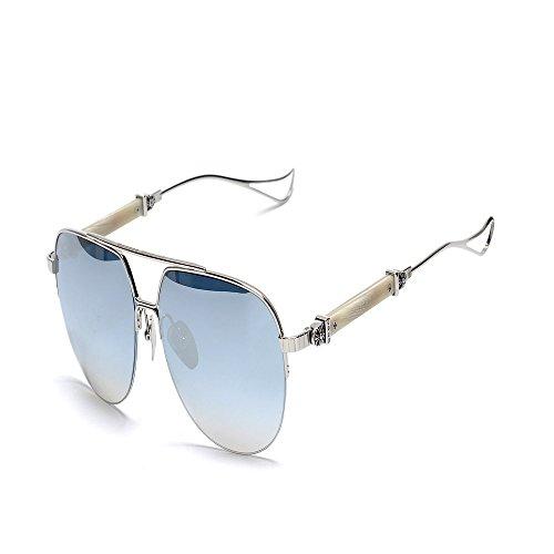 anti 6 sol metal de Gafas de Gafas gafas Shop sol gafas UV mercurio de de plateado sapo sol Pqw688Ed