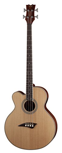 Dean Guitars 4 String Dean Acoustic/Electric Bass CAW Lefty - SN, Left Handed (EABC L)