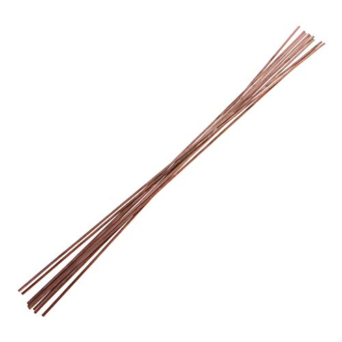 10pcs 1.2X3.2X500mm Flat Silver Electrode Low Temperature Phosphor Copper Welding Rods HL201 Self-fluxing Alloy Soldering Brazing By Keaiduoa
