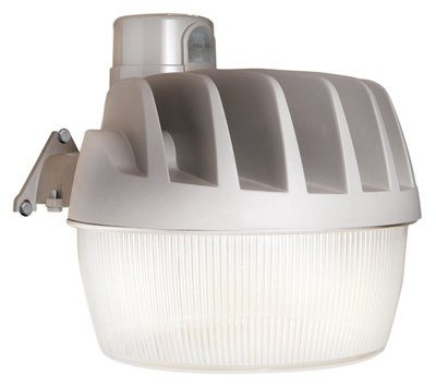 All-Pro AL3150LPCGY LED Area Light with 3400 lm, Replaceable NEMA Photo Control, Gray