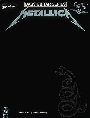 Metallica - (Black) For Bass - Bass Guitar Series by Hal Leonard