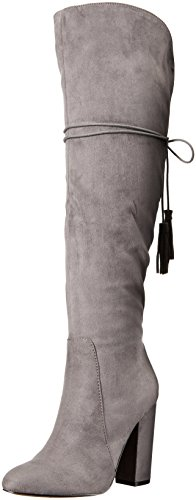 Betsey Johnson Women's Sasey Slouch Boot - Grey - 6.5 B(M...