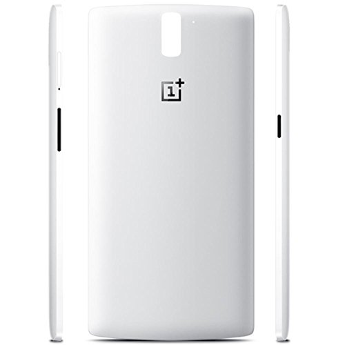 premium selection 6bf2d 4055a Whiteoak Original Oneplus? Silk White Styleswap Back Cover for ...